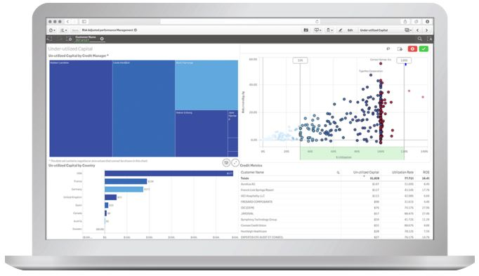 Qlik for Financial Services | BI Analytics| Differentia Consulting