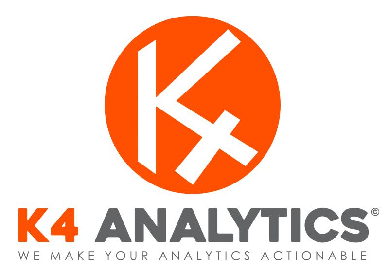 K4 Analytics data entry for Qlik Sense and QlikView