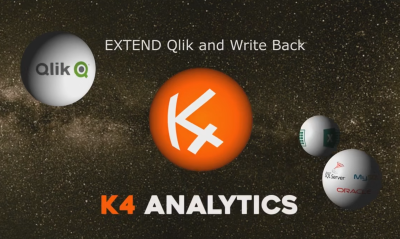K4 Analytics Extend Qlik and Write Back_