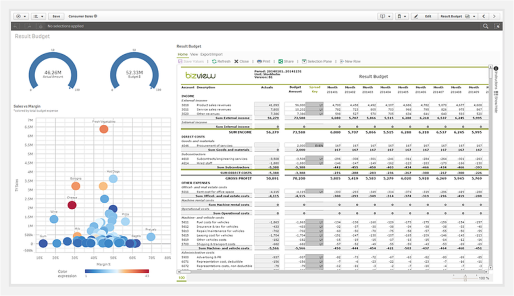 BizView for Qlik