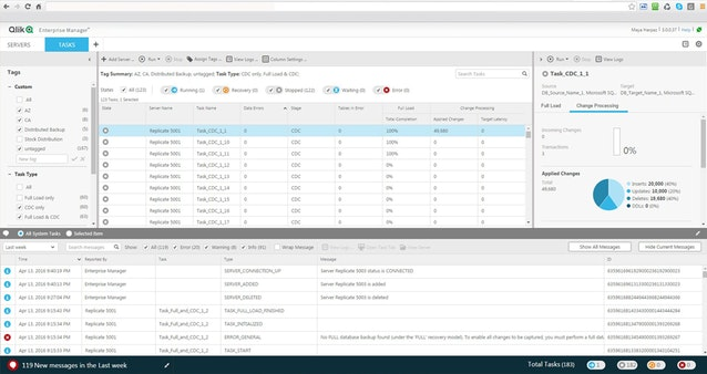 QEM Visualise your transactional data pipeline
