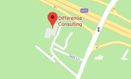 Differentia Consulting - Location Map