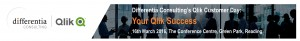 Qlik Customer Day 2016 - Your Qlik Success - Differentia Consulting