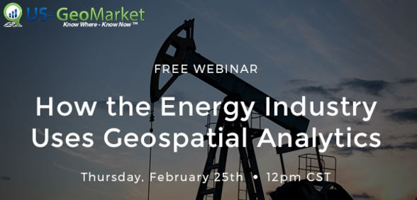 How the Energy Industry uses Geospatial Analytics - Webinar