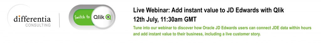 DC JD Edwards with Qlik Webinar Banner Q216