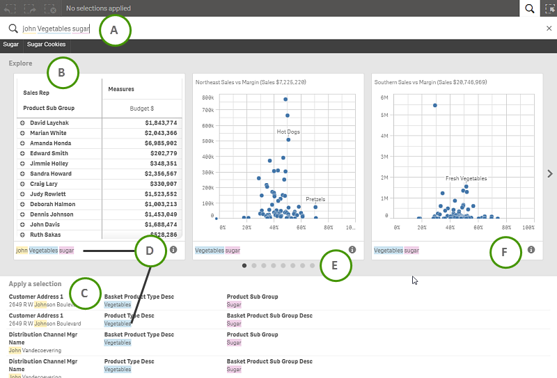 Qlik Sense Smart Search - providing associative search to your