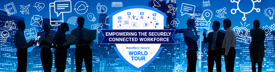 BlackBerry World Tour Banner - Differentia Consulting