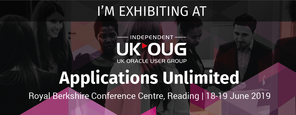 Differentia Consulting are exhibiting at UKOUG Applications Unlimited 2019
