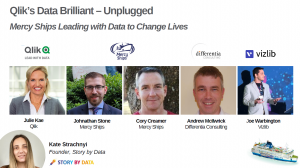 Differentia Consulting Speak at Qlik's 1st Data Brilliant – Unplugged Session