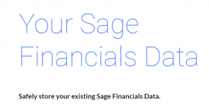 Smarter.SAGE Archive Offering for Sage Financials Customers