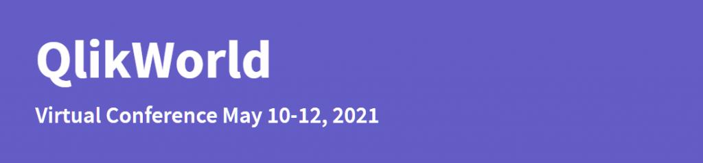 QlikWorld 2021 Banner